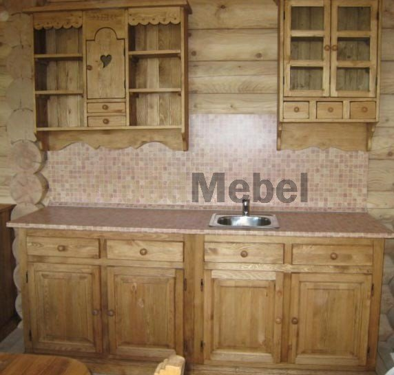1198 2355 thickbox - Кухни из дерева на заказ