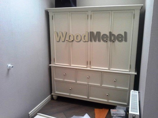 1234 12 - Шкафы из дерева на заказ
