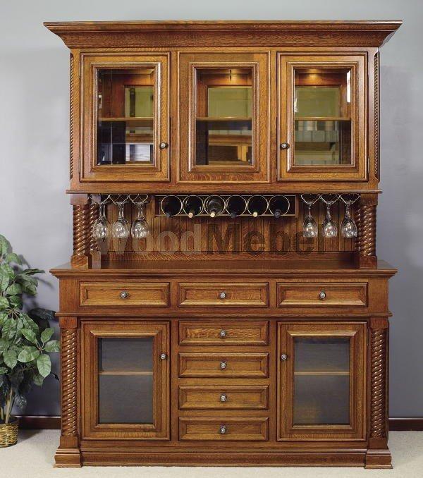4070 Legacy Wine  Hutch - Буфеты из дерева на заказ
