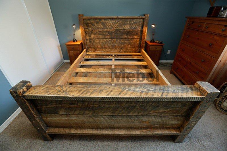 Bed 3 - Кровати из дерева на заказ Киев