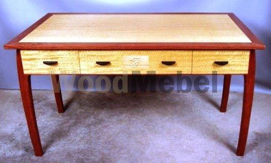 CM ASW Desk Full e1369767360480 - Письменные столы из дерева на заказ