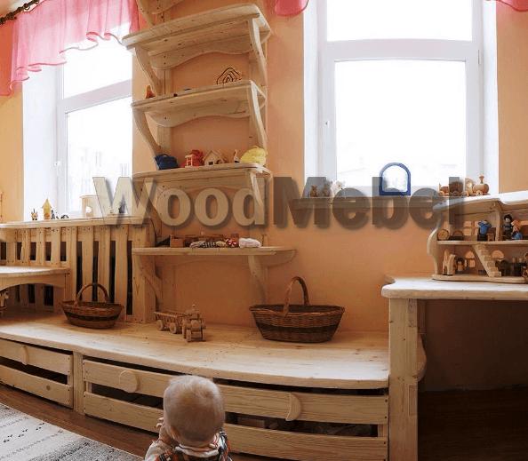 Детские из дерева на заказ