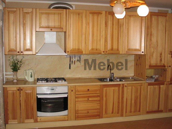 anuta kuh 2 big - Кухни из дерева на заказ