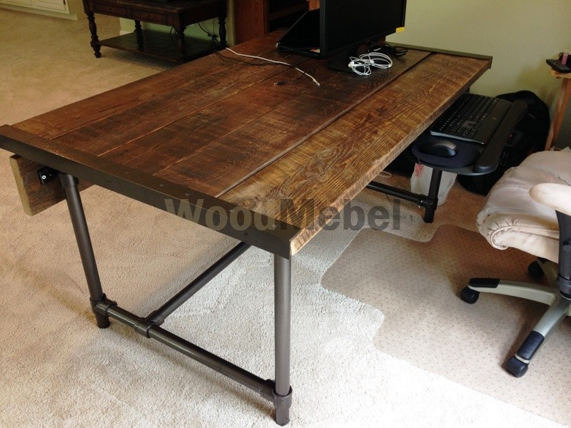 desk week barn table - Письменные столы из дерева на заказ