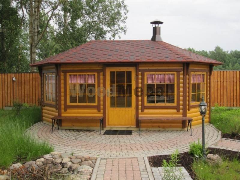 finskaya besedka barbekyu - Беседки из дерева на заказ