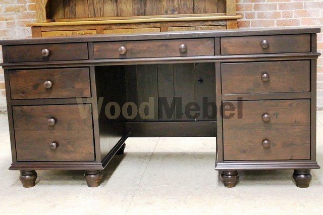 modern desks and hutches - Письменные столы из дерева на заказ