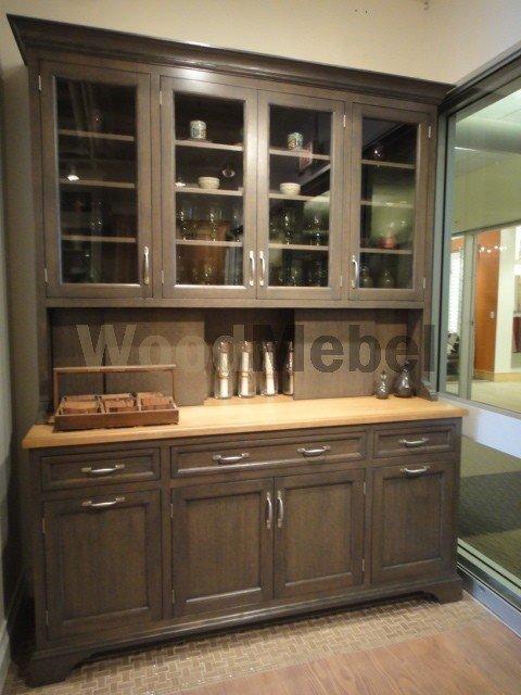 traditional dining room - Буфеты из дерева на заказ
