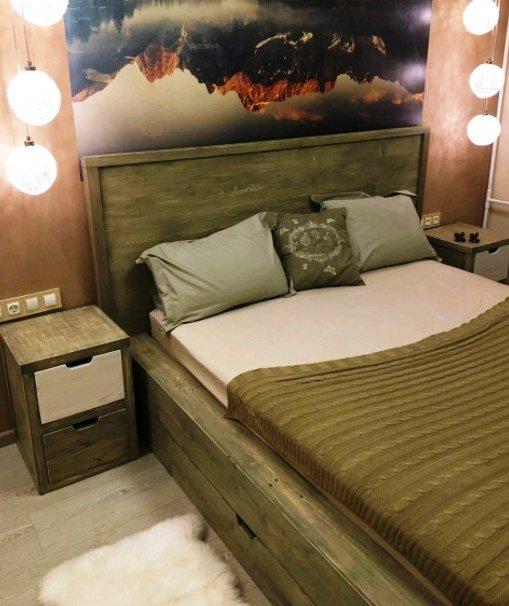 Спальни из дерева на заказ