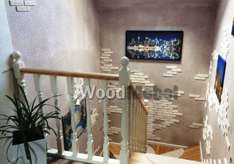 Лестница из дерева на заказ