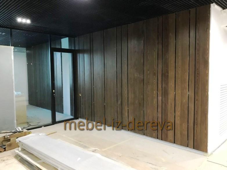 Стеновые панели из дерева на заказ