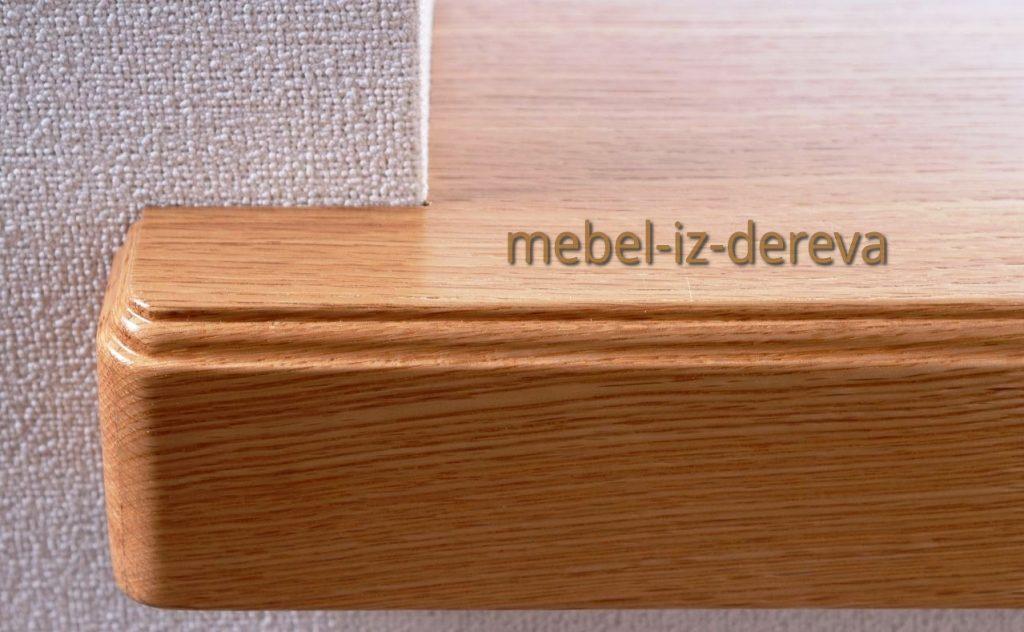 Podokonnik iz dereva 1 1024x632 - Подоконник из дерева на заказ