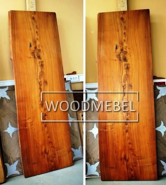 Подоконник из дерева под заказ Вишневое